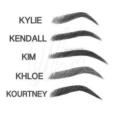 Who's Eyebrows Shape do you have?!? ✔️ Kylie, Kendall, Kim, Khloé or Kourtney's?!  Comment down below!!                                                                                                                                                                                  More                                                                                                                                                                                 More