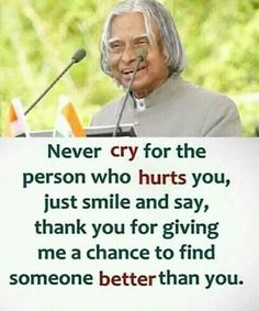 New Trading Motivational A.Abdul Kalam Amzing pic collection 2019 ~ Proud to be an Indian Apj Quotes, Life Quotes Pictures, Real Life Quotes, Life Lesson Quotes, Motivational Quotes, Qoutes, Good Thoughts Quotes, True Feelings Quotes, Quotes About Attitude