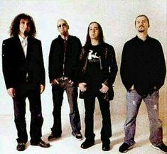 Serj, Shavo, Daron y John ! Daron Malakian, System Of A Down, Metal Bands, Appreciation, Soup, Guys, Blonde Hair, Honey, Bands