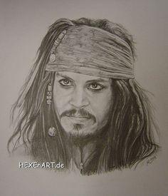 Jack Sparrow, pencil