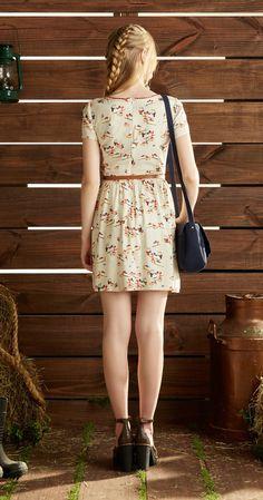 Só na Antix Store você encontra Vestido Tortinha da Vó II com exclusividade na internet