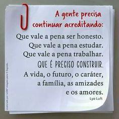 Sempre acreditando no BRASIL e no povo brasileiro