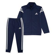 3ff9e19ba922 Boys 4-7x Adidas Tricot Zip Track Jacket   Pants Set