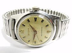 Vintage 1965 Mens Bulova M5 Selfwinding 17'j Automatic Watch Runs FOR SALE • $65.00 • See Photos! Money Back Guarantee. VINTAGE MENS BULOVA SELF-WINDING SWISS WRISTWATCH. GOLD FILLED BEZEL. WATCH MEASURES FROM LUG TO LUG APPROXIMATELY: 38MM X 31MM WIDE WITH OUT THE CROWN. NO SCRATCHES ON THE CRYSTAL. WATCH 262761932923