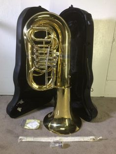Allora AATU-105R Series 4-Rotary Valve 4/4 BBb Tuba w/ Case, Straps, Gloves - http://musical-instruments.goshoppins.com/brass-instruments/allora-aatu-105r-series-4-rotary-valve-44-bbb-tuba-w-case-straps-gloves/
