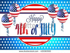 4th of July independence day background. #patriotic #independenceday #july4th #4thofjuly #vector #card #banner #poster