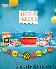"Photo 1 of 16: Birthday ""Thomas the Train 3rd Birthday"" | Catch My Party"