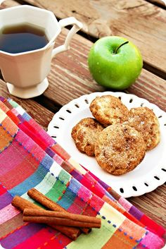 Soft, sweet, and undeniably delicious dunked into a cup of hot tea, these apple cinnamon snickerdoodles should definitely make an appearance in your baking this winter!