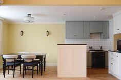 壁がタイルのキッチンに憧れ。