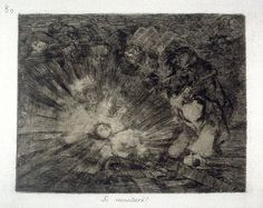 Si resucitará? (Will She Rise Again?), pl. 80 from the series Los desastres de la guerra (The Disasters of War)