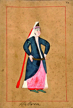 The 'Rålamb Costume Book' is a small volume by an undidentified Ottoman artist, containing 121 miniatures in Indian ink with gouache and some gilding, displaying Turkish officials, occu… Historical Costume, Historical Clothing, Medieval Banquet, Empire Ottoman, Ottoman Turks, Jewish Art, Swedish Royals, My Heritage, Fashion Plates