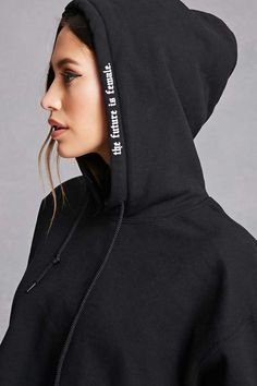 Shop a variety of sweatshirts & hoodies at Forever Get incredible deals on everything from cozy pullovers, graphic sweatshirts, cropped hoodies & more! Sport Fashion, Fashion Outfits, Mens Sweatshirts, Hoodies, Fashion Details, Fashion Design, Apparel Design, Cropped Hoodie, Zip Hoodie