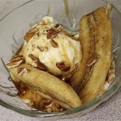 """Bananas Fosters II   """"This recipe was a breeze. Hubby loved it so much, he practically licked the bowl."""""""