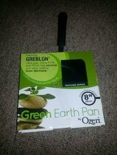 """Freesocial2011: 8"""" Green Earth Frying Pan by Ozeri Reveiw!"""