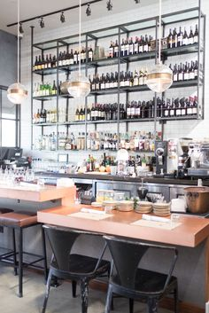 A Good Lunch Should Always Be Accompanied With Wine And The Bar At