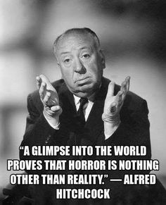 Alfred Hitchcock Quotes, Hitchcock Film, Scary Movies, Horror Movies, Horror Art, Vintage Horror, Great Films, Portraits, Halloween Horror