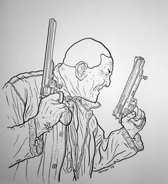Nixon from Hard Boiled. Looking tough!