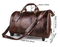 Portable Luggage Duffel Bag Chipmunk Fabric Travel Bags Carry-on In Trolley Handle