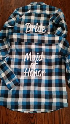 aa614f5113 FLANNEL SALE! Bridesmaid Flannels Bridesmaids Robes Bachelorette Camping  Party Custom Bridesmaid Flannel Bachelorette Flannel