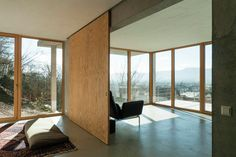 Gallery - House on a Slope / Gian Salis Architect - 13