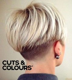 Kort Undercut Vrouwen | CUTS & COLOURS