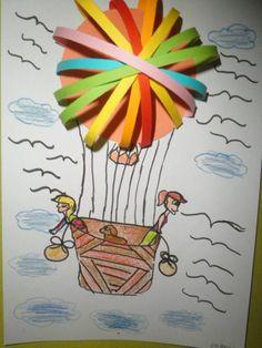 létající balón Diy For Kids, Crafts For Kids, Art Education, Creative Art, Ms, Diy And Crafts, Preschool, Valentines, Cards