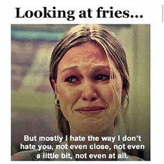 Anyone else?? 😂😱🍟😋