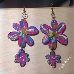 Paper earring by ninfa pema