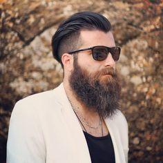 Full Beard With Undercut