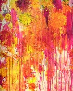 splatter, color, organic, neon, bright, textured, movement