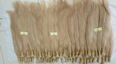 Bulk Blonde hair extension - Vietnam Remy Hair Company - website: http://hair68.com/ - email: asap6886@gmail.com - whatsapp: +841667673763