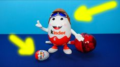 Huge Kinder Surprise Egg and Enormous Chupa Chups. A lot of Candies Chup...