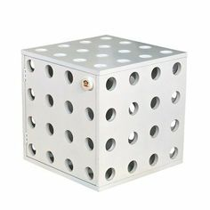 Paul Frank Stackable Storage Cubes Color: White by Najarian Furniture. $60.00. 4 legs on bottom panel to act as locking mechanism when stacked on top of another cube. Recommended age 2 to 7 years old. Open holes allow easy visibility of items stored inside. Silk printed Julius on door knob. Durable wood composite construction and unique design. ZPFSBW Color: White This Stackable Storage Cube is a functional space-saver. Store your goods inside and never have to rummage thr...