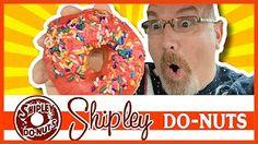 Shipley Do-Nuts in Galveston, Texas - Glazed, Cherry & Apple Fritter Cherry Apple, Apple Fritters, Food Reviews, Bagel, A Food, Glaze, Galveston Texas, Videos, Youtube