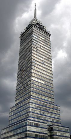 Torre Latinoamericana (Latin American Tower) has become an emblematic structure in Mexico City, MEXICO.