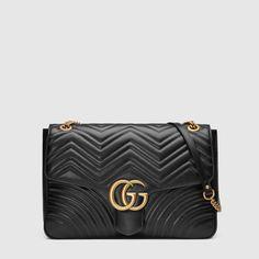 43a7bca62fd GG Marmont large shoulder bag Chain Shoulder Bag
