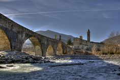 Bobbio, Italy. Described by Hemingway as the most beautiful valley in the world.