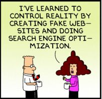 SEO or How to Control Reality #lol #comic