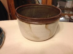 Another pot from unloading the kiln on 12/30/13