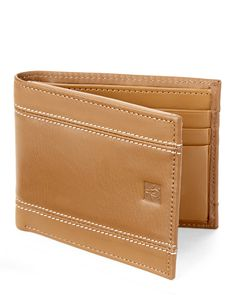 Original Penguin Double Stitch Bi-Fold Wallet