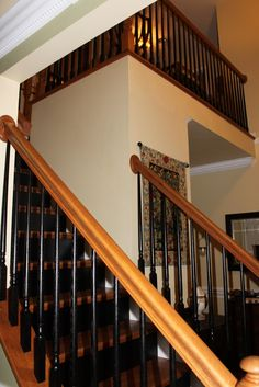 Black And White Entry Painted Spindles Home - Quoteko.com