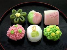 日本人のおやつ♫(^ω^) Japanese Sweets 伝統の和菓子 Wagashi 上生菓子 3月 - 京菓匠 七條甘春堂 オンラインショップ