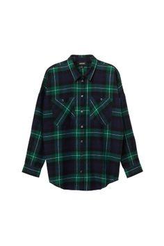 Monki check shirt