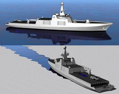 Royal Navy Polar Combat Ship concept ML: I would prefer a VLS between the hangar and the mast, for anti-ship and AA missiles (ex: Brahmos), like in Absolon, and a VLS for Mica, Umkhonto and similar missiles astern of the cannon. CEAFAR radar will be welcome too.