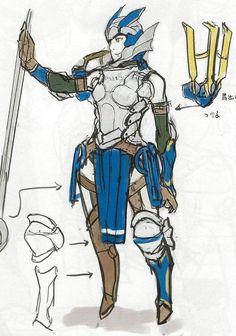 Female Wyvern Lord Awakening Concept Art