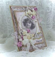 Cathrines hjerte Frame, Cards, Vintage, Home Decor, Picture Frame, Frames, A Frame, Home Interior Design, Decoration Home