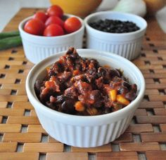 Black Beans and Rice.  A healthy meal that is easy to make.  Makes a great burrito filling too!  mywholefoodlife.com