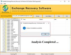 Damaged data from EDB File can be recovered with the help of EDB Recovery Utility that first of all finds you lost EDB File location automatically then scan/ repair whole corrupt EDB File issues very carefully and successfully. This EDB to PST Recovery Software gives the 4 most excellent and easy to read format to recover EDB File to PST, EML, MSG and HTML with inbox, outbox, sent mail, draft, to, cc, bcc, image header, appointment items etc.