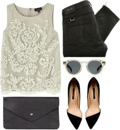 """be chic"" by rosiee22 ❤ liked on Polyvore"