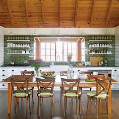 kitchens & being thankful | Milk and Honey Home